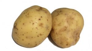 picture of two baking potatoes