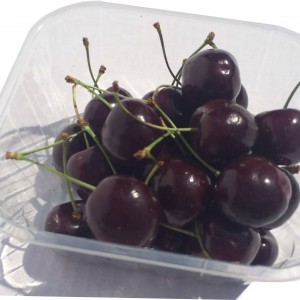 A punnet of cherries
