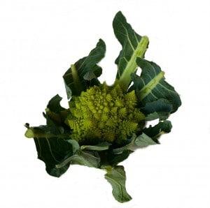 A green Cauliflower like vegetable